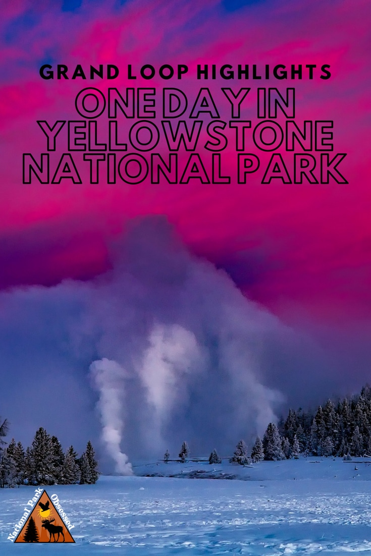 One day isn't enough but if one day in Yellowstone National Park is all you have.  Make the most of it by hitting the highlights on a tour of the Grand Loop.  