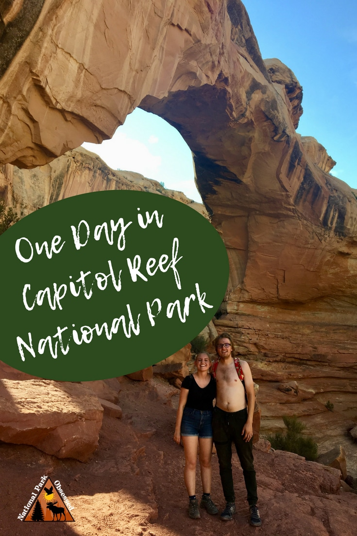 Looking to visit Capitol Reef National Park? Do you only have one day to spend? Check out our guide to spending one day in Capitol Reef National Park. #capitolreef #capitolreefnps #nationalparkobsessed #nationalparkgeek #findyourpark #utah #mightfive #nationalpark #nationalparks