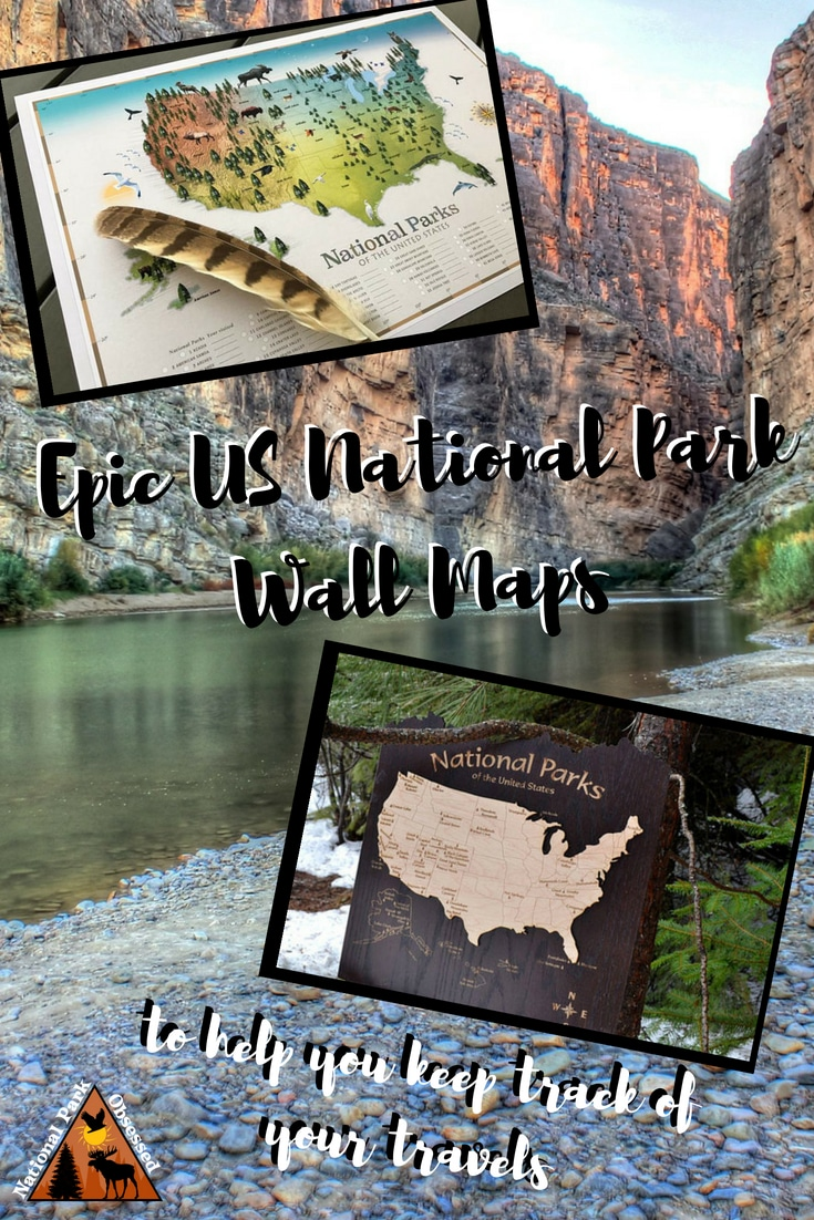 Looking to track your progress thru the National Parks? Consider getting a US National Park Wall Map to share your park journey with your guests. #homedecor #home #wallart #nationalparkobsessed #nationalparkgeek #Nationalpark #findyourpark #nationalparks #the59parks #the60parks