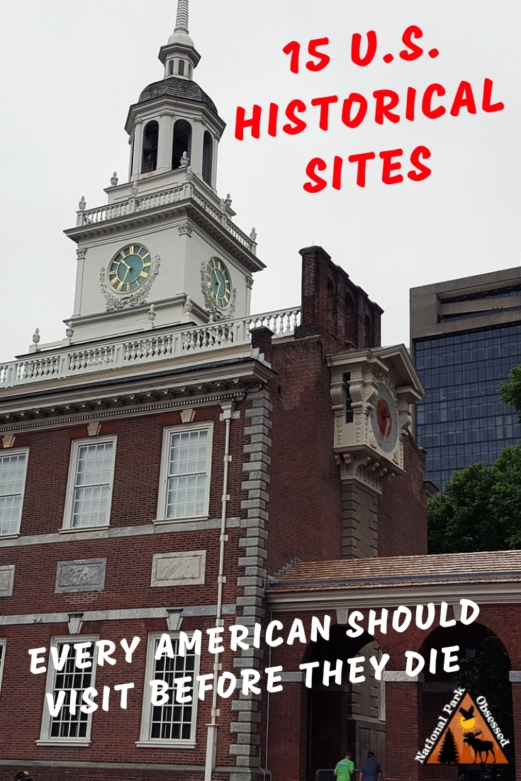 While the United States is a young country, it has a rich history. Every American should make it a point to visit these 15 #historicalsites before they die. 