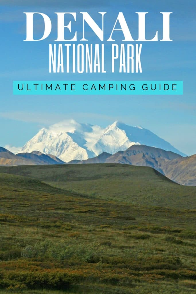 Planning on going camping in Denali National Park?  Confused about which campsite to pick. National Park Obsessed's Ultimate Guide is here to help you pick the very best campsite.  Denali national park vacation.  Denali national park | Denali national park vacation | Denali national park photography | Denali national park itinerary | Denali hikes | Denali itinerary