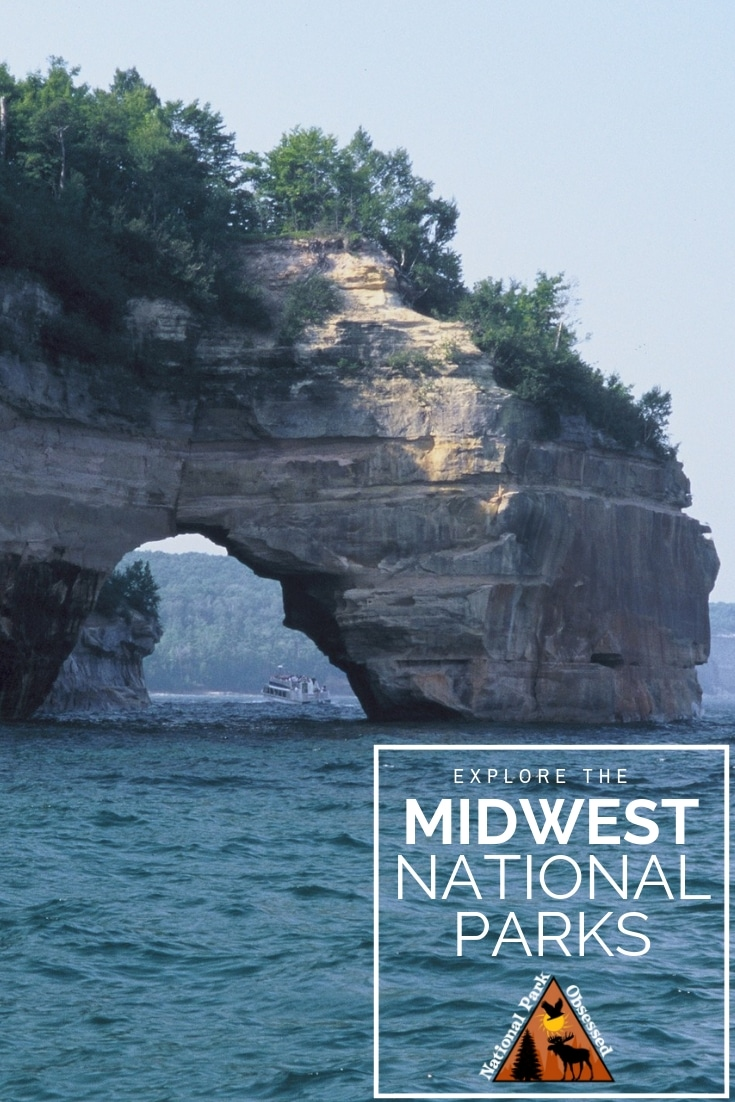 The Midwest Region of the United States is home to 57 national park service sites.  Here is a complete list of the national parks of the midwest.  #findyourpark #nationalparkgeek