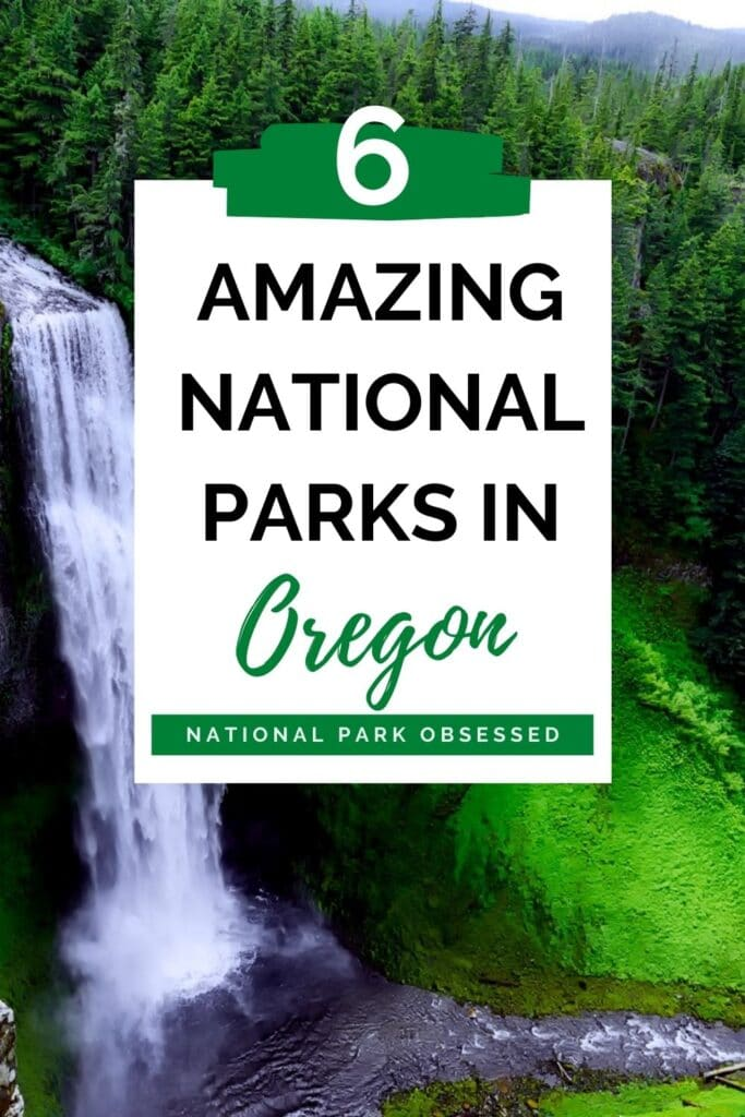 Heading to Oregon and want to explore. The National Parks of Oregon offers a range of parks to explore the great outdoors and a range of historical sites.  #findyourpark #nationalparkobsessed #Oregon #pacificnorthwest #pnw #nationalparks #nationalpark #craterlake #oregontrail Oregon National Parks National Parks in Oregon