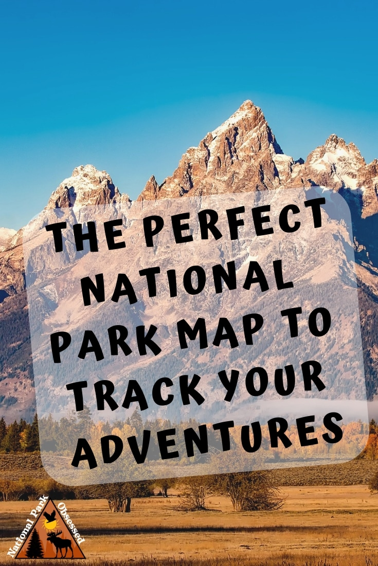 Looking for a USA National Parks Map to track your national park travels.  Check out this incredibly detailed map by GeoJango Map.    #nationalparkmap #nationalparks #nationalpark #nationalparkgeek #nationalparkservice