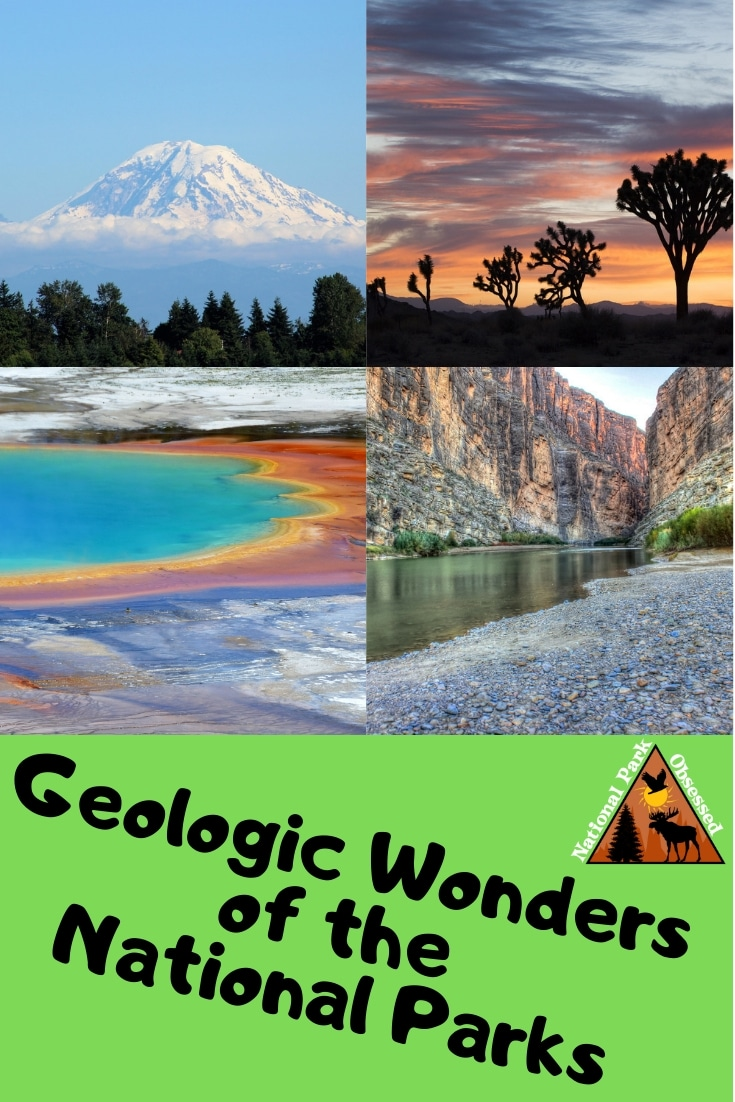 The US is full of geologic wonders.  Nowhere is that better showcased than in the National Parks. Check out the Geologic Wonders of the National Parks