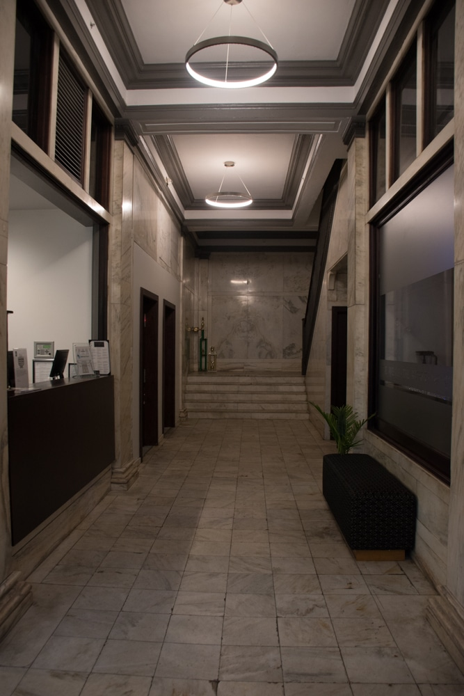 The Waters Hotel - View of Front Desk