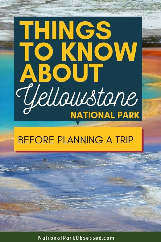 Planning a trip to Yellowstone National Park and don't know where to start? Here are 25 things to know before visiting Yellowstone National Park  Yellowstone national park vacation.  Yellowstone national park | Yellowstone national park vacation | Yellowstone national park photography | Yellowstone national park itinerary | Yellowstone hikes | Yellowstone itinerary