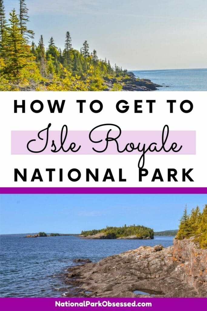Planning a visit to Isle Royale National Park but confused on how to get there? Check out our how to get to Isle Royale National Park guide.  Isle Roayle / National Park / National Parks / How to get to Isle Royale / #isleroyale #nationalpark #nationalparks