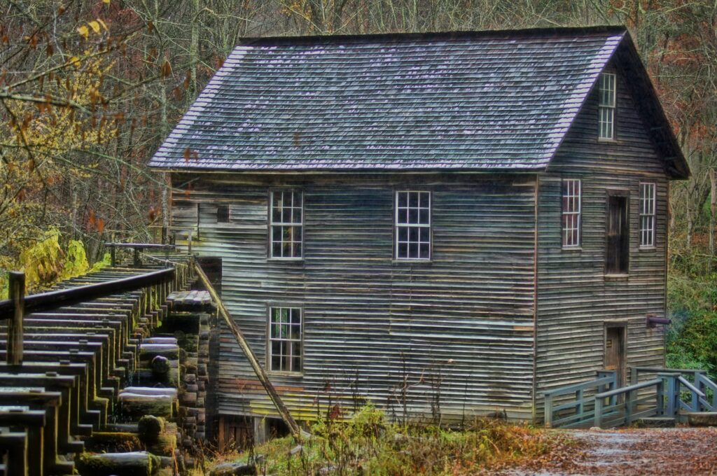 Mill in Great Smoky Mountains