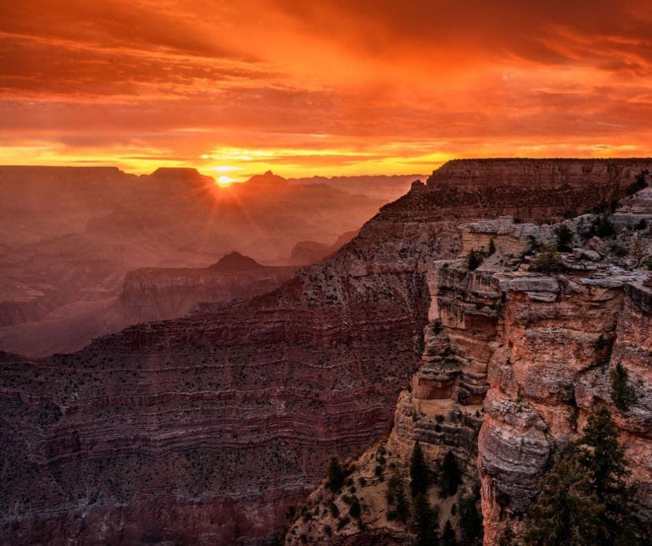 Mather Point - First Visit to Grand Canyon