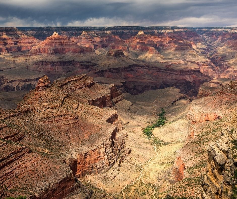 Bright Angel Trail - First Visit to Grand Canyon