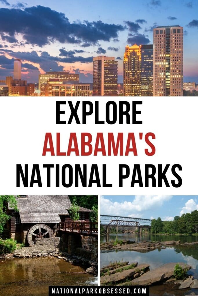 Click HERE to learn more about the National Parks in Alabama.  These unique 9 Alabama National Parks range from the Civil Rights to Native American History to . . .  National Parks of Alabama / Birmingham Civil Rights / Freedom Riders / Horseshoe Bend / Little River Canyon / Natchez Trace / Russell Cave / Tuskegee Airmen / Tuskegee Institute / alabama national monuments / national monuments in alabama/ national parks alabama / alabama national parks map / alabama national parks list