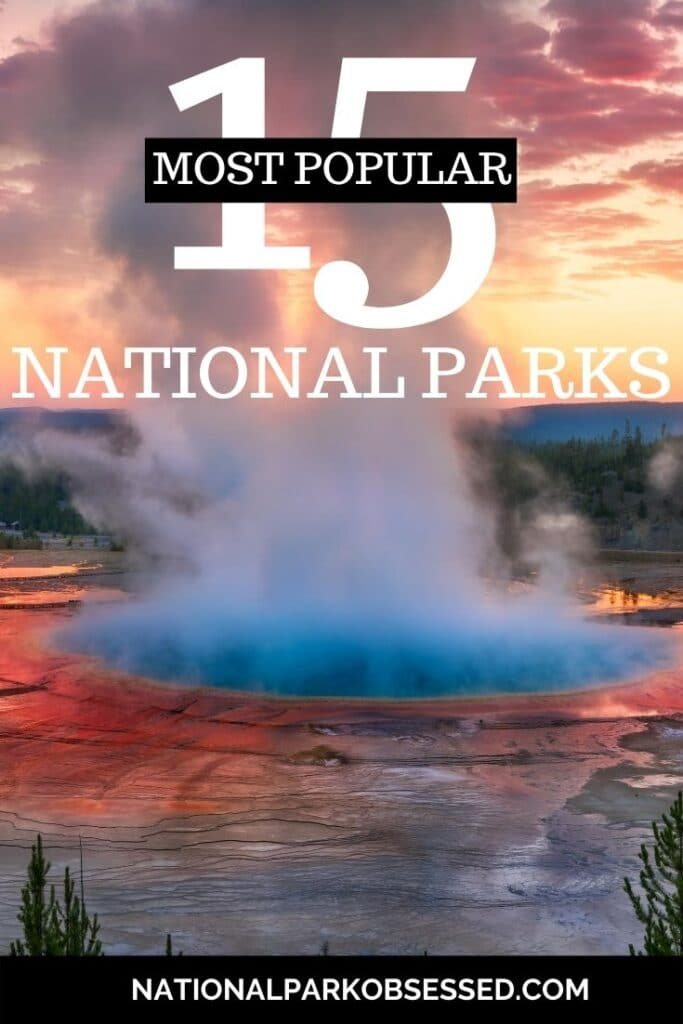 Wonder which US national parks are the most popular? Click HERE to learn about the 15 most visited national parks and a few tips to avoid the crowds.