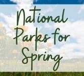 National Parks for Spring
