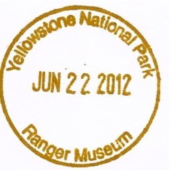 National Park Passport Stamp - Ranger Museum