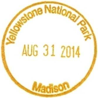 National Park Passport Stamp - Madison