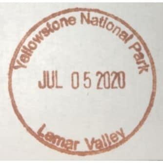 National Park Passport Stamp - Larmar Valley