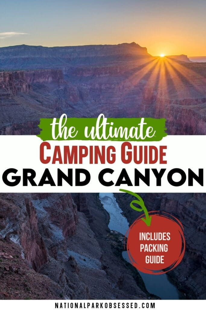 Are you considering camping in Grand Canyon National Park? Click HERE for the ultimate guide to Grand Canyon Campgrounds and get ready for your Grand Canyon camping trip.