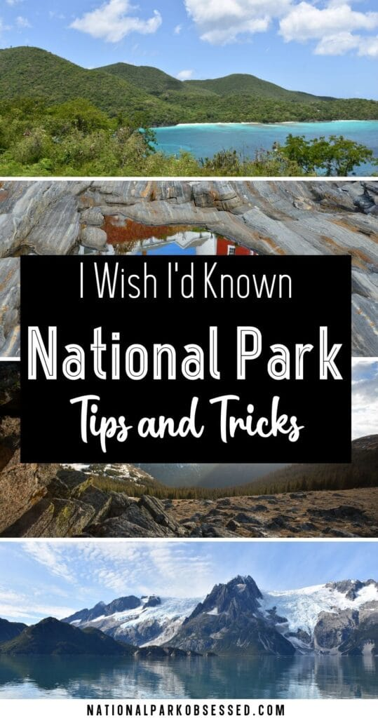 Considering a quest to visit all 63 National Parks?  Here are things this National Park expert wishes I knew before trying to visit all the national parks.    62 National Park / United States National Parks / National Park Blog / US National Park / National Park Trip Planning / National Park Vacation / National Park Checklist