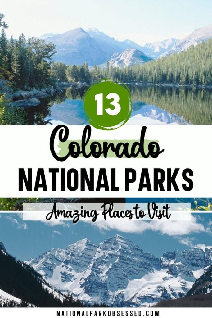 The national parks in Colorado are home to majestic natural areas and several important historic sites.  These are the 13 Colorado National Parks.  colorado national parks list / how many national parks are in colorado / how many national parks in colorado / best colorado national parks / national parks colorado / national park of colorado