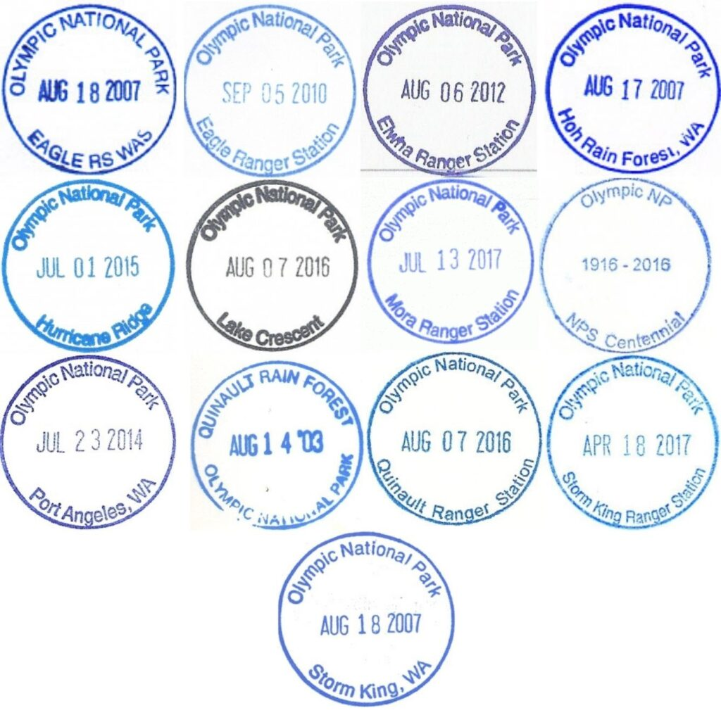 Discover Your Northwest Passport Stamps