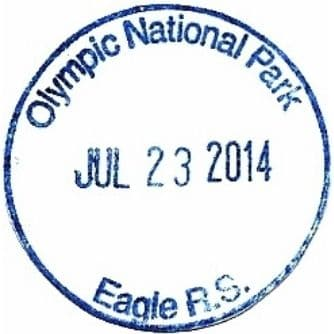 Eagle Ranger Station Passport Stamp