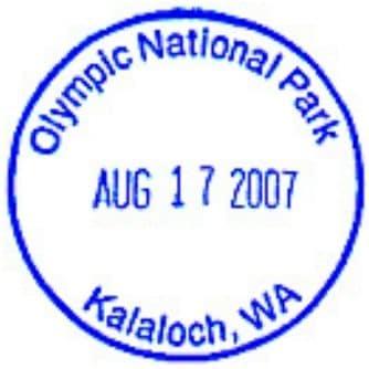 Kalaloch Lodge Gift Shop Passport Stamp
