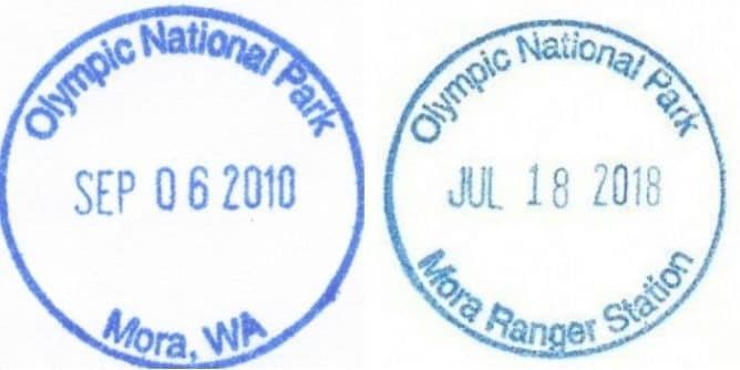 Mora Ranger Station Passport Stamp