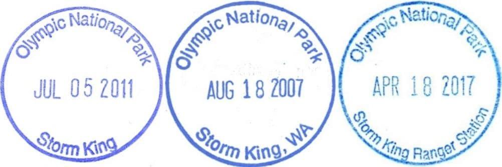 Storm King Ranger Station Passport Stamp